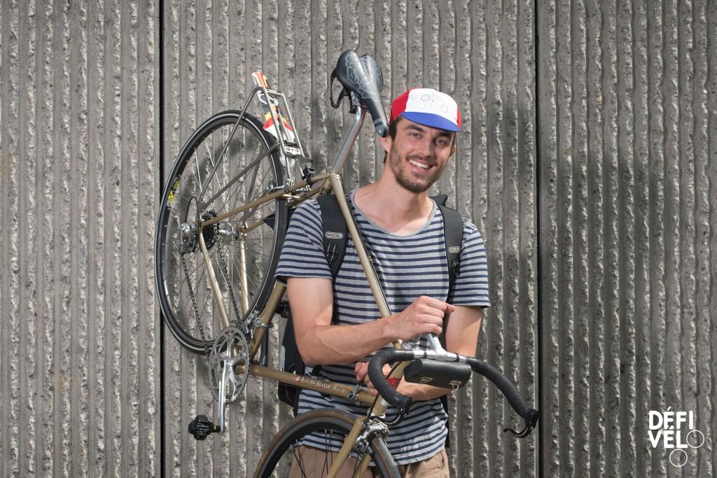 Lausanne, mercredi 14 juin 2017. Montbenon. Finale DEFI Vélo. Portraits des moniteurs et monitrices. Richard Dupont. Copyright © Marius Affolter 2017