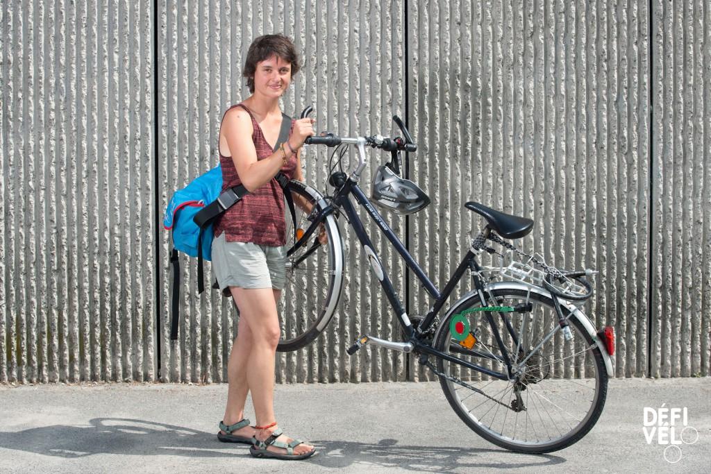 Lausanne, mercredi 14 juin 2017. Montbenon. Finale DEFI Vélo. Portraits des moniteurs et monitrices. Valeria Bucher Copyright © Marius Affolter 2017